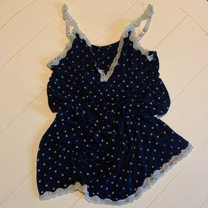 Blue Nursing/new mom Nightgown - Size Medium